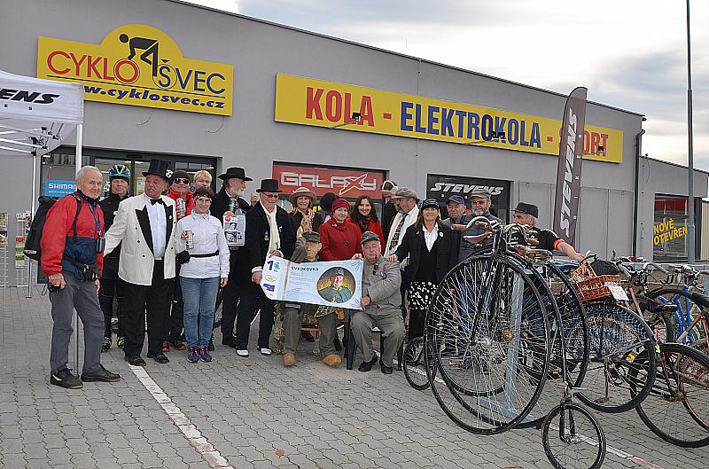 Otevření 1. Cyklistického informačního centra jižních Čech a Šumavy CYKLOŠVEC a testování kol a elektrokol