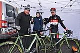 Emil Hekele /GALAXY CYKLOŠVEC STEVENS/ a mechanici Liborové